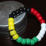 Salvation Pony Bead Bracelet