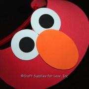 red visor for elmo party