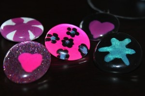 nail polish gem jewelry