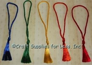 Rainbow Floss Tassels