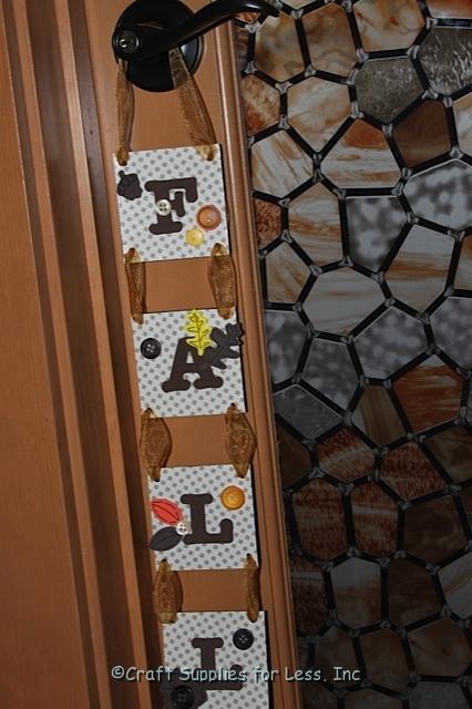 Fall Craft - Door Hanger