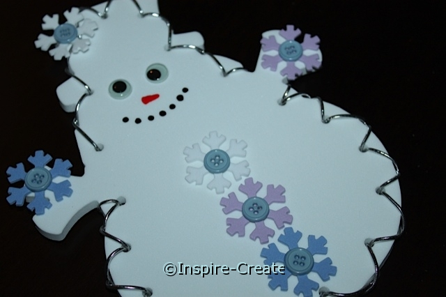 Lacing Snowman Craft