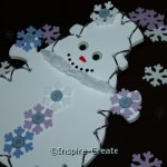 Easy Snowman Craft for Winter