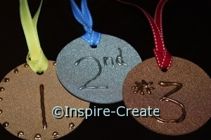 how to make olympic medals for kids games