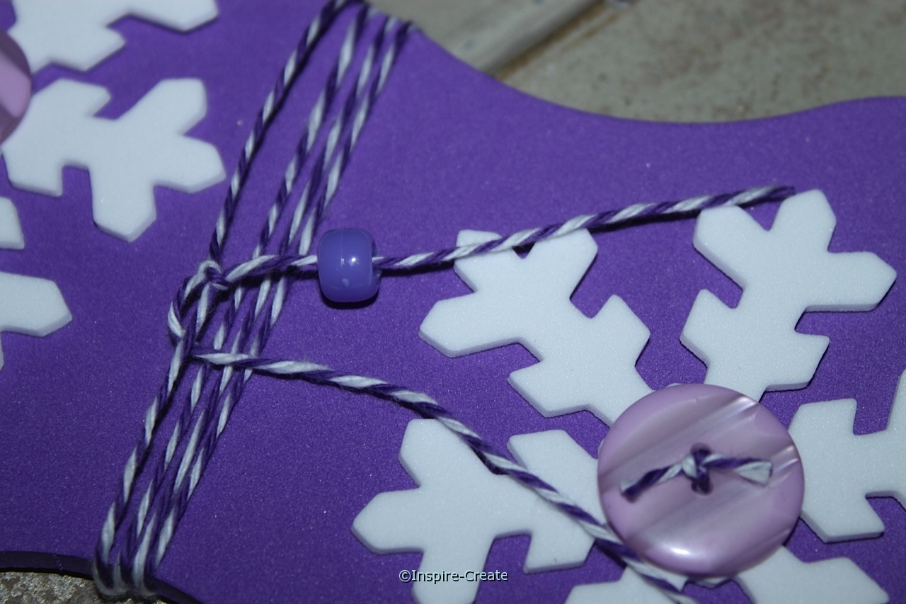 add pony beads to bakers cotton