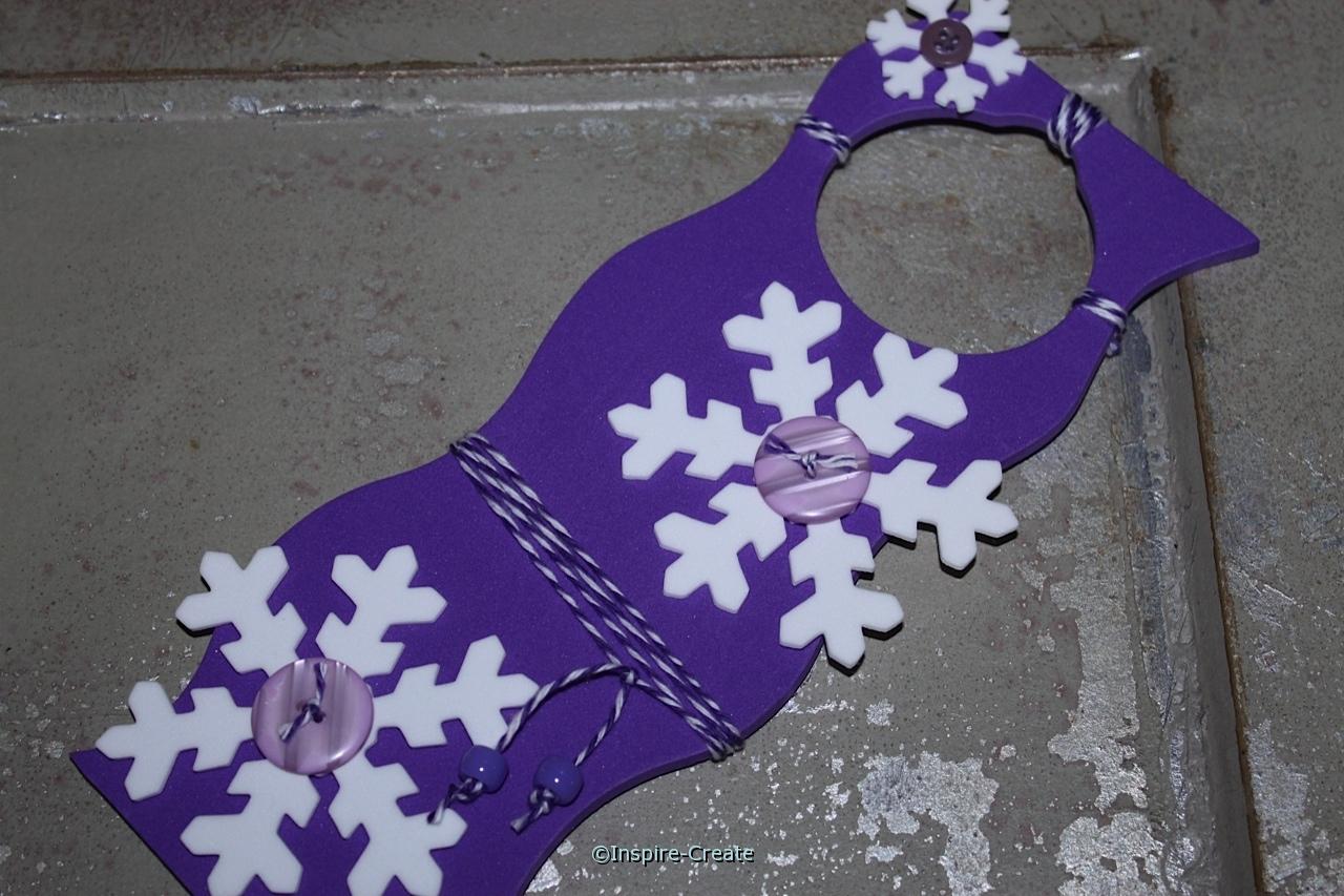 snowflake door hangers