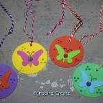 Easy Butterfly Necklaces...DIY!