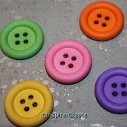 Bright Button Magnets