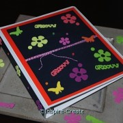 DIY... Groovy Flower Binder for Back to School