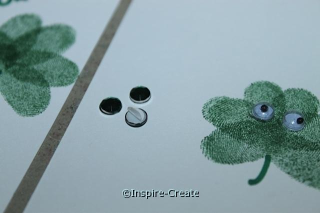 Shamrock Bookmarks...add emerald stick on jewels!