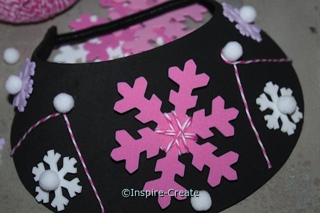 Snowflake Visors that kids can make!