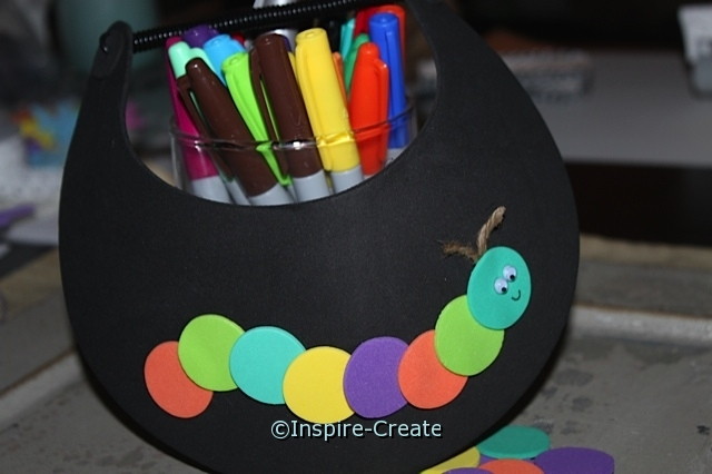 Easy Hungry Caterpillar Visor Craft for Kids!