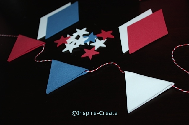 Craft Foam Pennant Flags...they are super easy to make!
