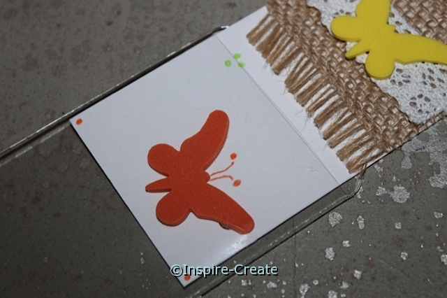 Butterfly Bookmarks... Slip insert into Clear Bookmark Sleeve