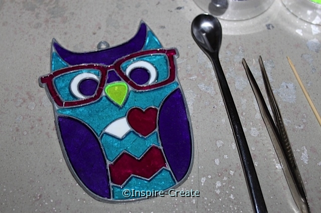 Makit & Bakit Owl Sun Catchers and Supplies