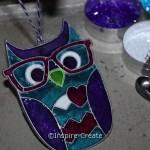 Makit & Bakit Owl Sun Catchers...Easy Instructions