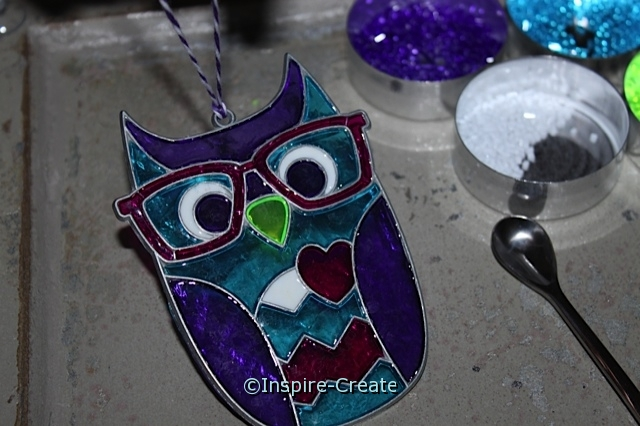 Makit & Bakit Owl Sun Catchers...Easy Instructions