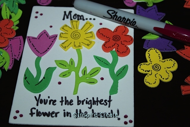 Mother's Day Flower Magnet for Kids to Make