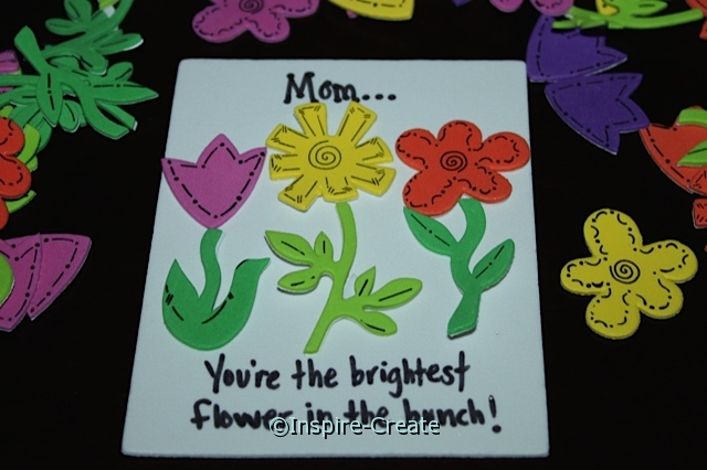 Flower Magnet Idea for Mother's Day