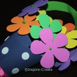Flowers for Mother's Day, May Day, or Any Day! Made from Craft Foam. Great for kids to make & give to Mom.