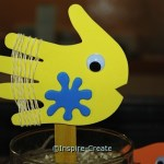 Fish Stick Puppet Craft for VBS