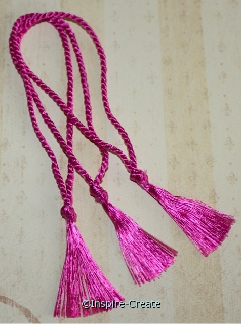 "Bookmark Tassels Azalea (50) ""SALE""*"