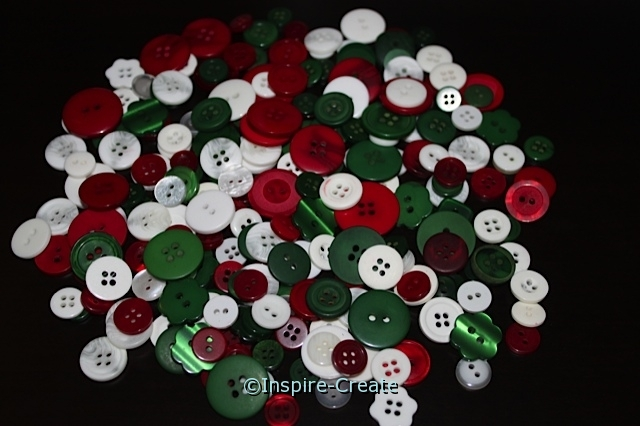 Traditional Christmas Buttons*