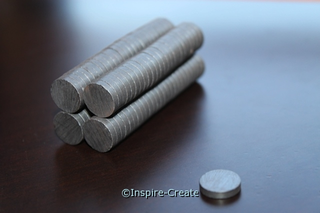 Small Thin Ceramic Magnet (500)*