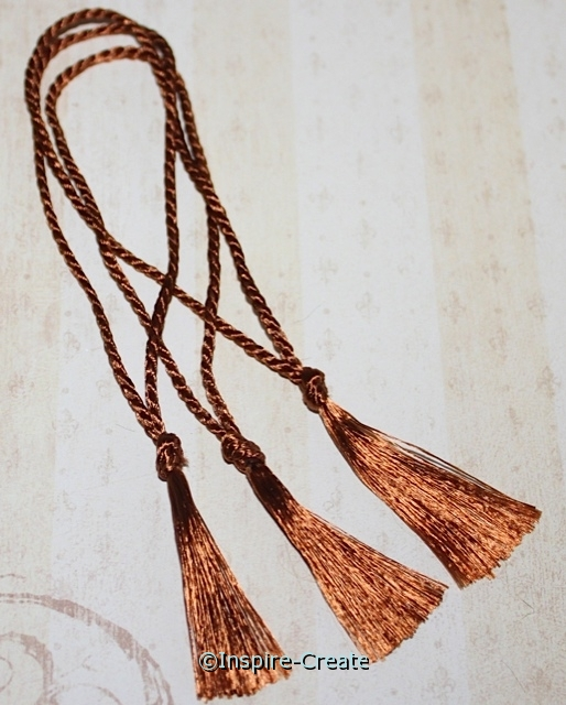 Bookmark Tassels Ginger (50)*