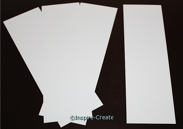 Small White Bookmark Inserts (50)*