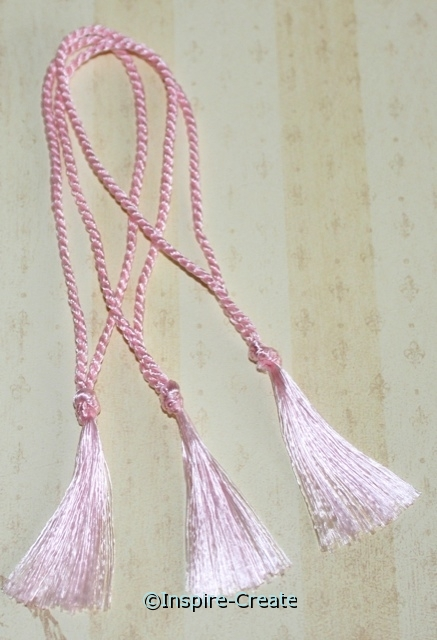 Bookmark Tassels Pink (50)*