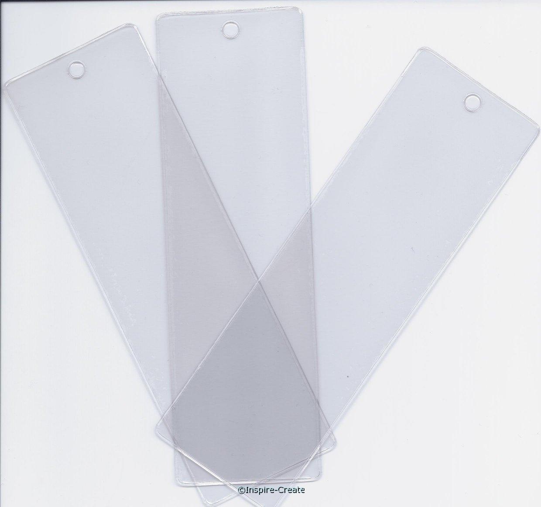 Square Top Vinyl Bookmark Sleeves (50)*