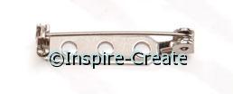 """1"""" Silver Pin Backs (w/o Adhesive) 144pk*"""