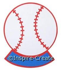 Foamies Baseball Memo Board*