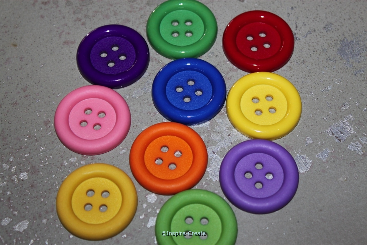 Assorted Color Big Ol' Buttons (10 pk)*