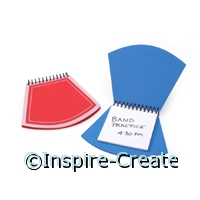 Foamies Baseball Home Plate Notebooks (2)*