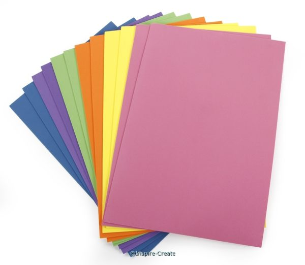 Foamies Sticky Back 9x12 Bright (12)*