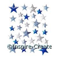 Star Stick on Rhinestones (31)*