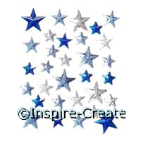 Star Stick on Rhinestones (31)*