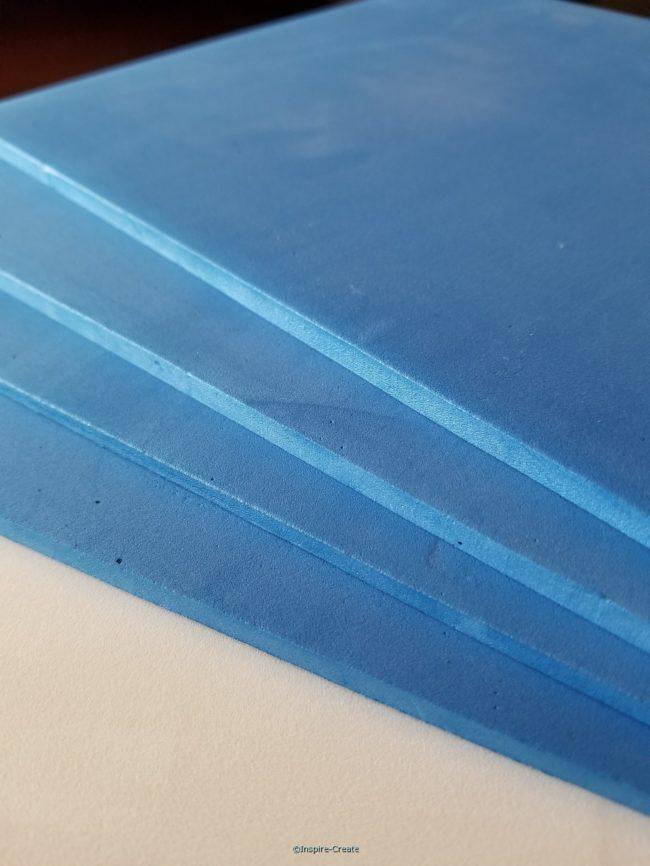 Foamies 6mm Blue 9x12 Sheets (4)*