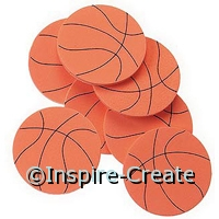 Foamies Basketball Stickers (55)*