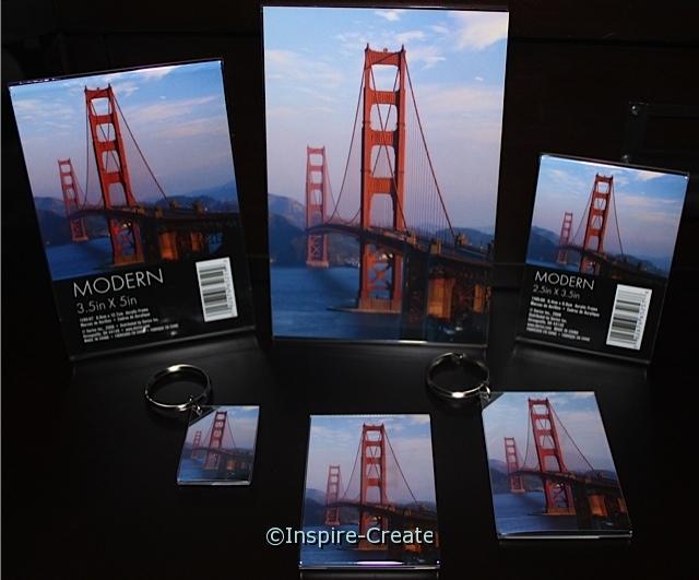 Acrylic Frames & Keychains