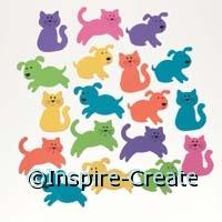 Foamies Cat & Dog Stickers (160)*
