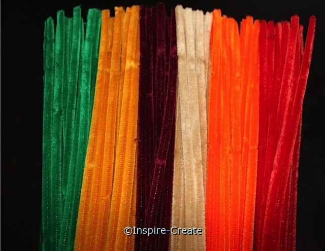 Fall Assorted Chenille Stems (100)*