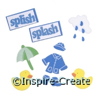 Foamies Splish Splash Sticker Sheet*