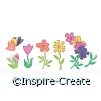 Foamies Flower Stickers (80)*