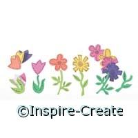 Foamies Flower Stickers (80)*