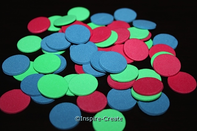 "3/4"" Multi Foam Circle SHAPES (480) ~All Sales Final"
