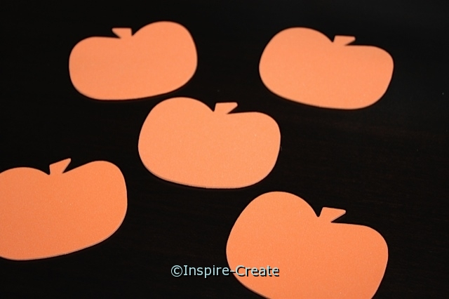 Foam Orange Large Pumpkin SHAPES (Bulk 90)*