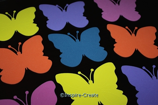 Large Butterfly Foam SHAPES (Bulk 60) ~All Sales Final